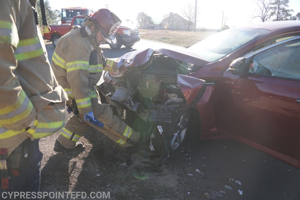 Two Vehicle Accident Shuts Down NC 24/27 - Cypress Pointe Fire & Rescue